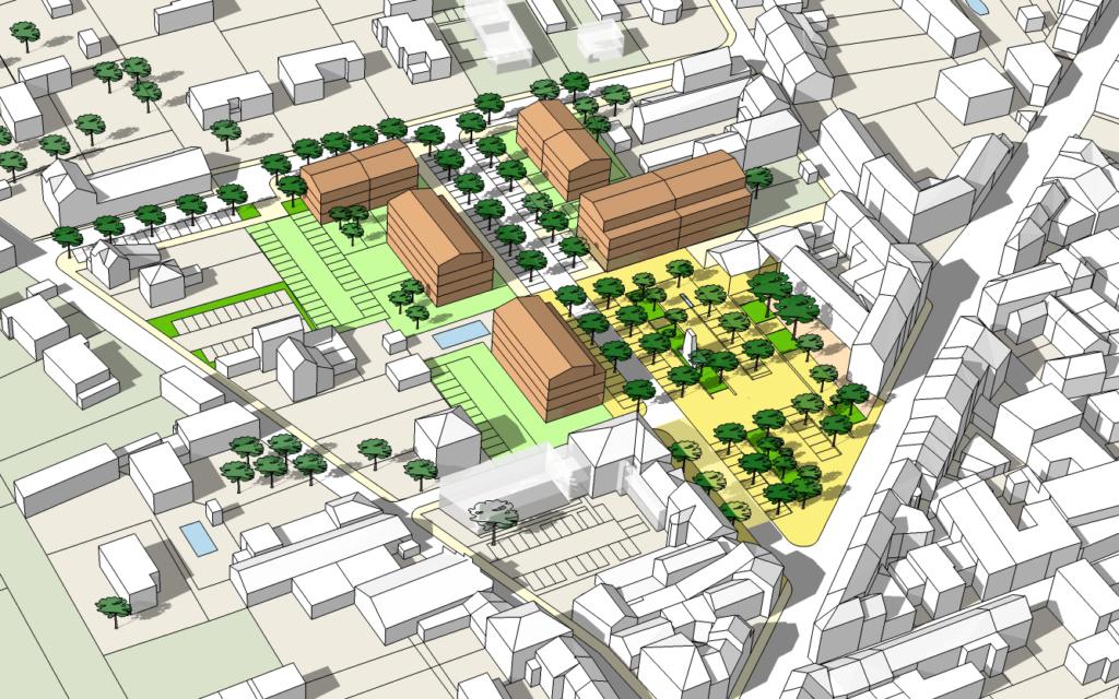 Aménagement urbain du centre-bourg de Montalieu-Vercieu