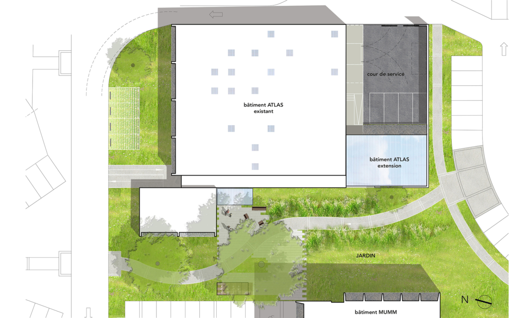 Bâtiment Atlas - Université Claude-Bernard à Villeurbanne