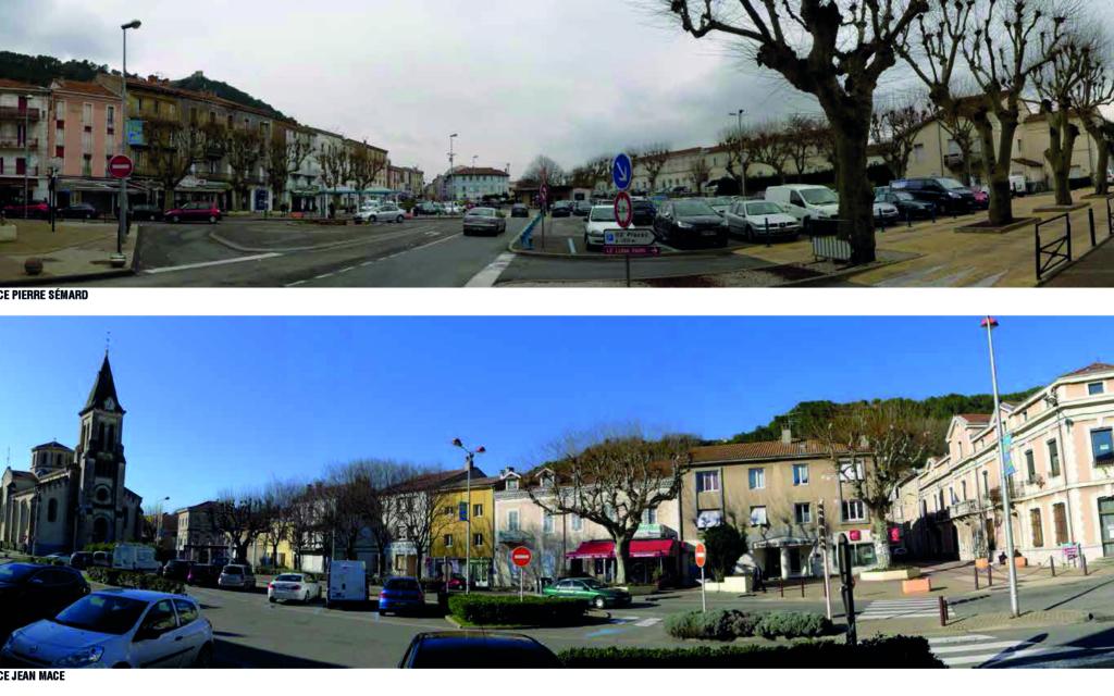 Projet urbain de centre-ville