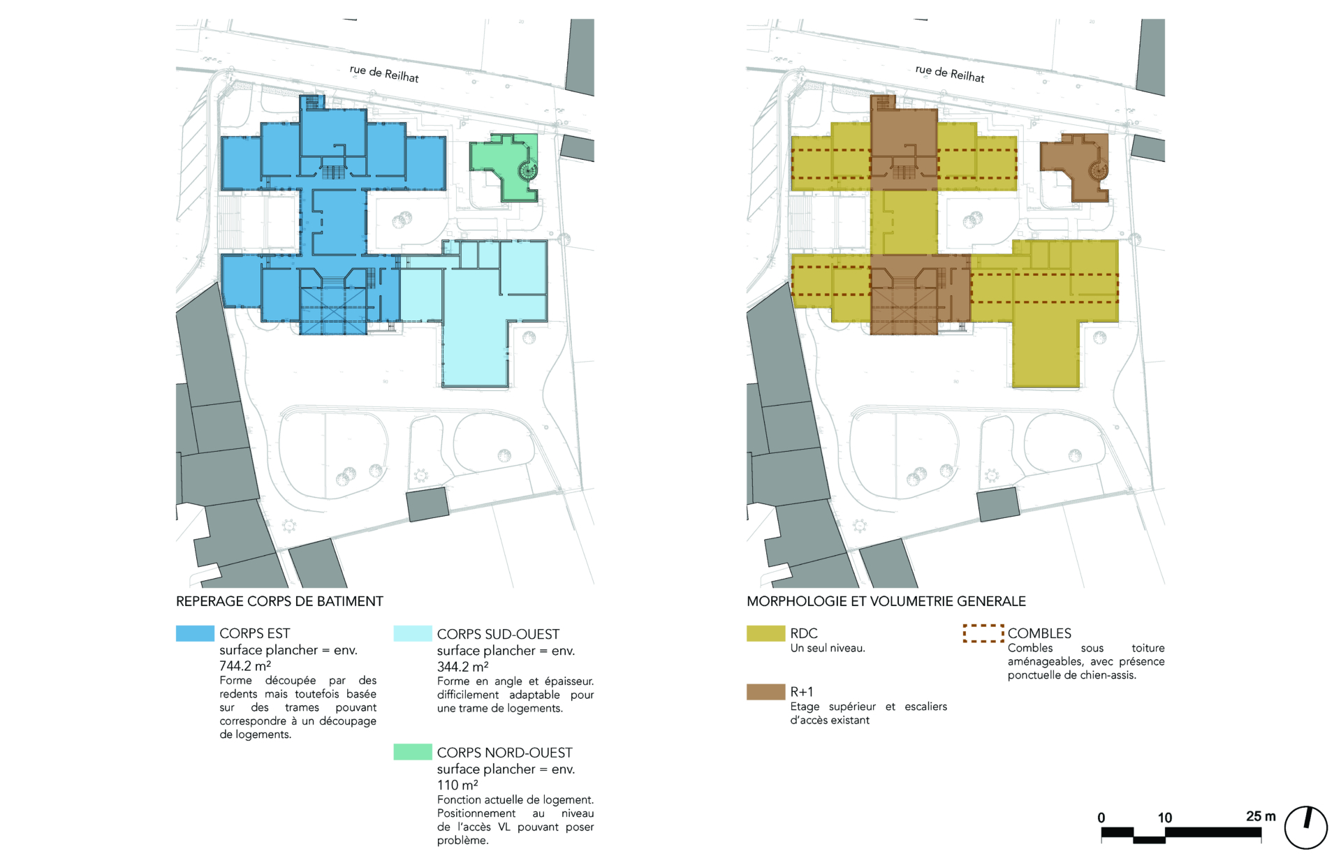 Transformation d'une école en logements sociaux